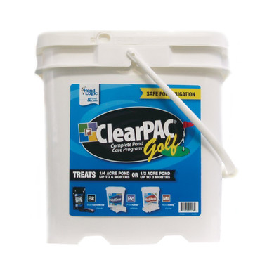 Pond Logic ClearPac Golf algae treatment and water managment