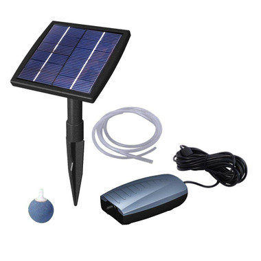 Beckett Solar Aeration Kit for ponds and water gardens
