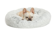 Soft Round Donut Pet Bed