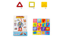 Magnetic Building Tiles 46 pcs set
