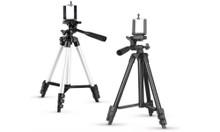 Camera Tripod Stand With 3-Way Head