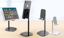 Height-Adjustable Stand Holder for Phone or Tablet