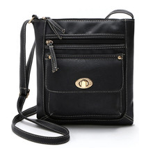 Cross-Body Bag with Clasp