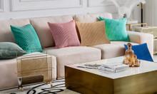 Striped Velvet Cushion Covers