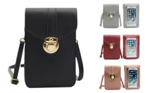 PU Leather Crossbody bag touchscreen version