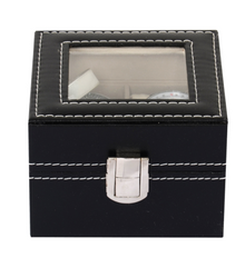 2 Slots Watch Display Organiser Box