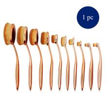 1 Set 10 Pcs Face Powder Blusher Toothbrush Set