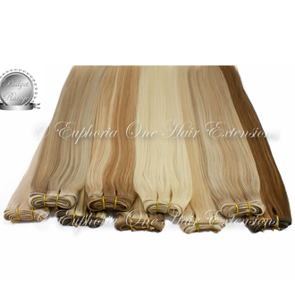 Indian Silver 4A Weft/Weave Hair Extensions - From £59.99