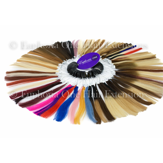 (NEW STYLE) Euphoria One Hair Extensions Full Colour Ring