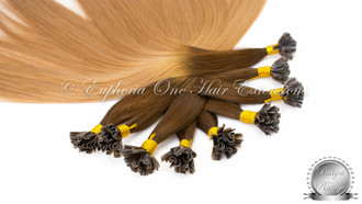 U-Tip Indian Silver Remy 4A Hair Extensions - 1 Gram - 25 Grams - From £12.99