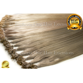 U-Tip Brazilian Gold Remy Double Drawn Hair Extensions - 25 Strands