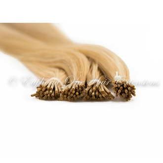 Tiny Tip Brazilian Gold Remy Double Drawn Hair Extensions - 25 Strands