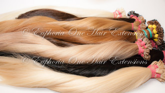 Flat Tip Slavic Russian Remy Hair Extensions - 1 Gram - 25 Grams