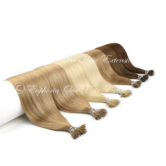 Nano Tip Russian/Mongolian Double Drawn Hair Extensions - 20 Strands