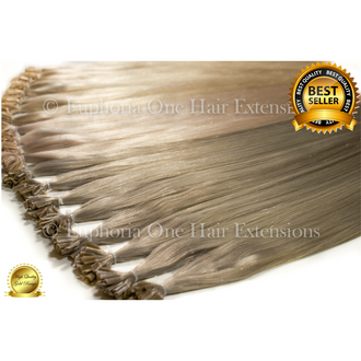 U-Tip Brazilian Gold Remy Double Drawn Hair Extensions - 25 Strands (Sale)