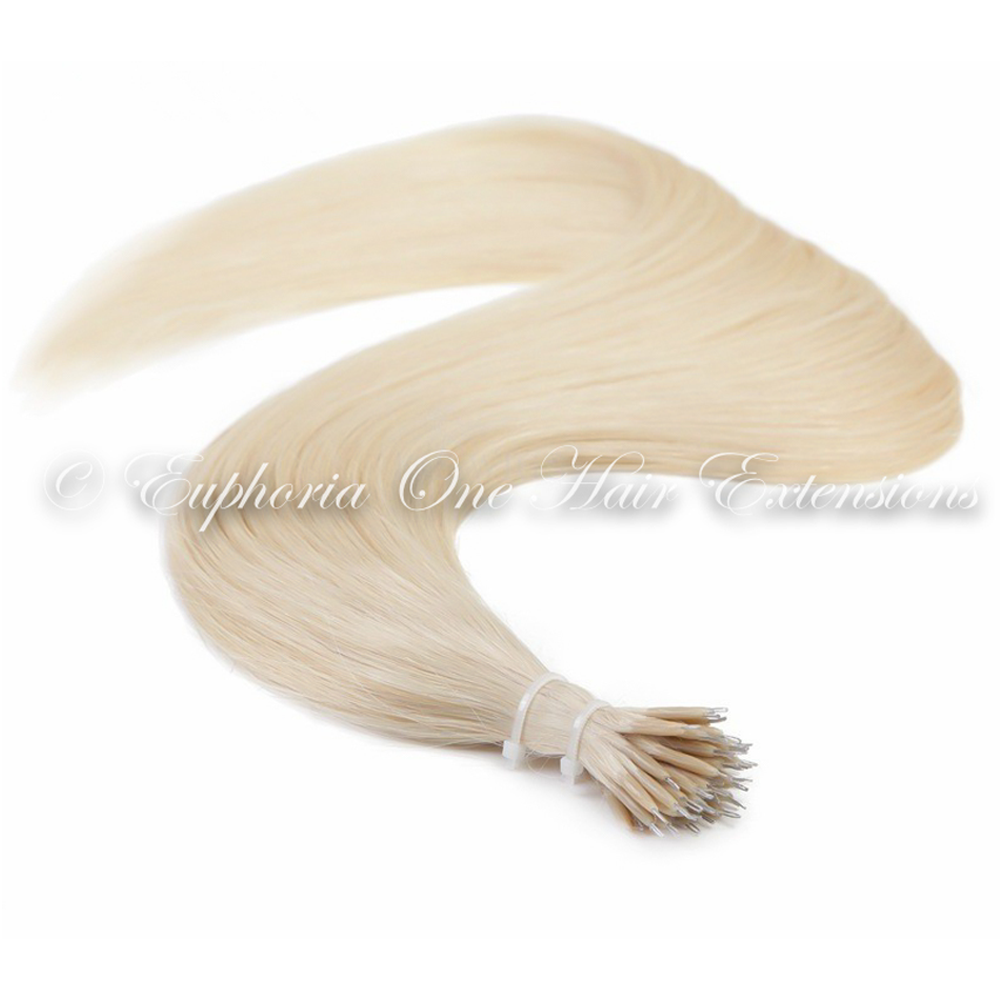 Indian Remy Cuticle Correct Double Drawn Nano Rings Hair