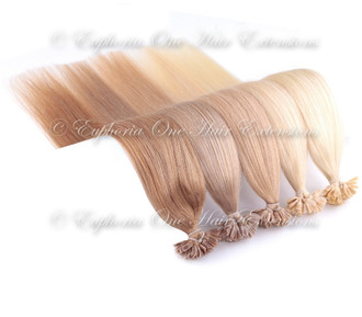 U-Tip Indian 5A Remy Double Drawn Hair Extensions - 1 Gram - 25 Grams