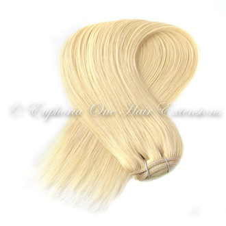 Indian 5A Weft/Weave Remy Double Drawn Hair Extensions - 20''-21''