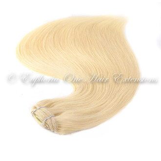 Indian 5A Clip In Remy Double Drawn Hair Extensions - 20''-21'' - 100 Grams