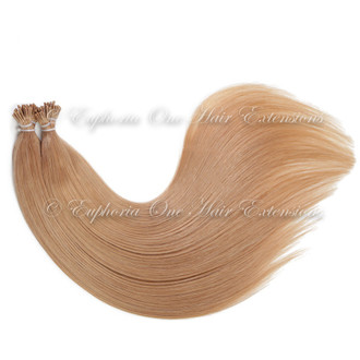 I-Tip Indian 5A Remy Double Drawn Hair Extensions - 25 Strands
