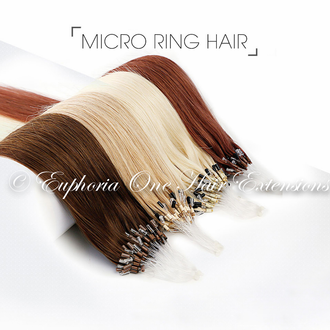 Micro Loop Indian Silver Remy 5A Double Drawn Hair Extensions - 1 Gram - 25 Grams
