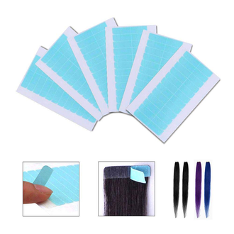Tape Hair Strips - Pack of 12 Individual Strips