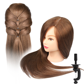 Mannequin Training Head - Human Hair