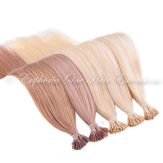 I-Tip Brazilian Gold Remy Double Drawn Hair Extensions - 25 Strands