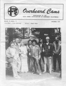 Overheard Cams November 1976
