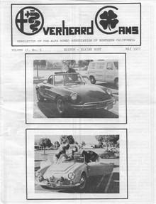 Overheard Cams August 1977