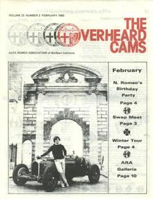 Overheard Cams September 1983