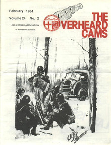 Overheard Cams October 1984
