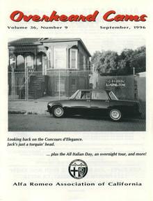 Overheard Cams September 1996
