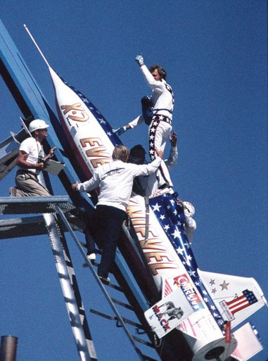 Knievel and Skycycle