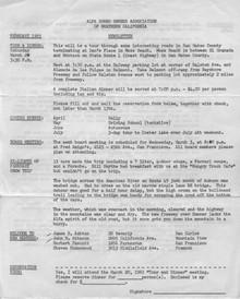 Overheard Cams March 1965