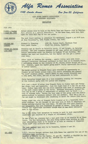 Overheard Cams April 1966