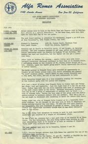 Overheard Cams August 1966