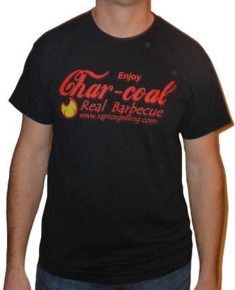 """Enjoy Charcoal - Real Barbecue"" t-shirt"