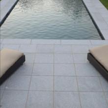 Silver Grey Flamed Granite