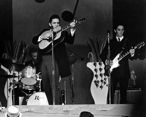 This is an image of 186574 Johnny Cash Photograph & Poster
