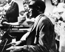 This is an image of 186579 Ray Charles Photograph & Poster