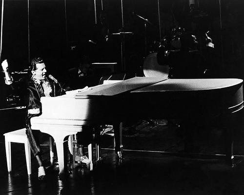 This is an image of 186603 Jerry Lee Lewis Photograph & Poster