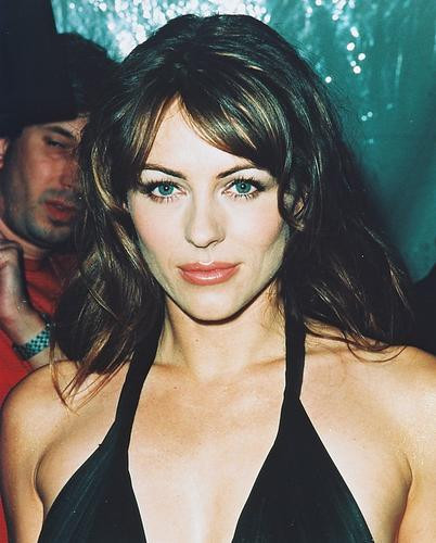 This is an image of 240894 Elizabeth Hurley Photograph & Poster