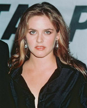 This is an image of 241019 Alicia Silverstone Photograph & Poster