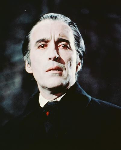 This is an image of 241315 Christopher Lee Photograph & Poster