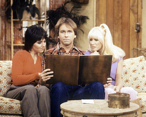 This is an image of 257459 Three's Company Photograph & Poster