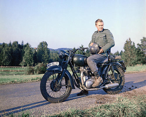 This is an image of 259095 Steve McQueen Photograph & Poster
