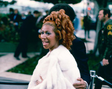 This is an image of 274355 Aretha Franklin Photograph & Poster