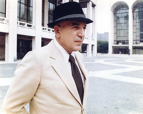 This is an image of 274665 Telly Savalas Photograph & Poster