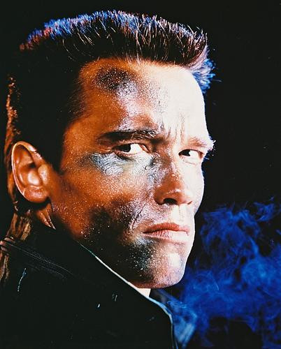 This is an image of 210306 Arnold Schwarzenegger Photograph & Poster